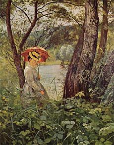 Hans Thoma (1839-1924), Im Sonnenschein
